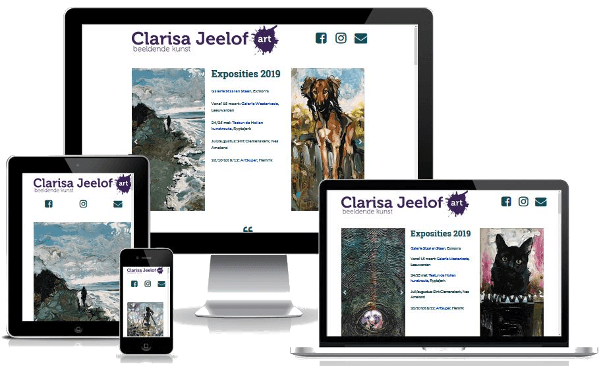 Website Clarisa Jeelof